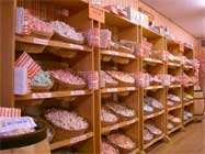 Grandma's Wall of Taffy Flavors